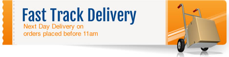 Fast Track Delivery – Next Day Delivery on orders placed before 11am