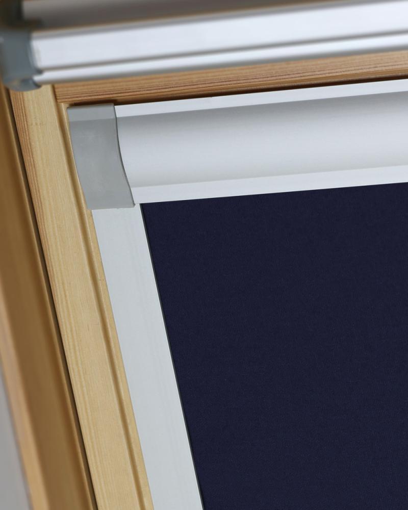 Blue Blackout Blind For Dakstra Skylight Roof Windows
