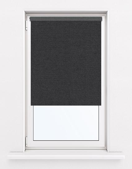 Bella Noir Roller Blinds Available Online In Uk And Ireland
