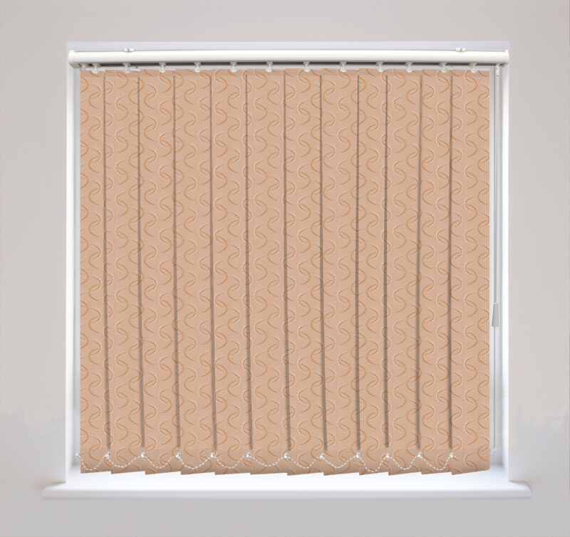 Aura Copper Vertical Blinds