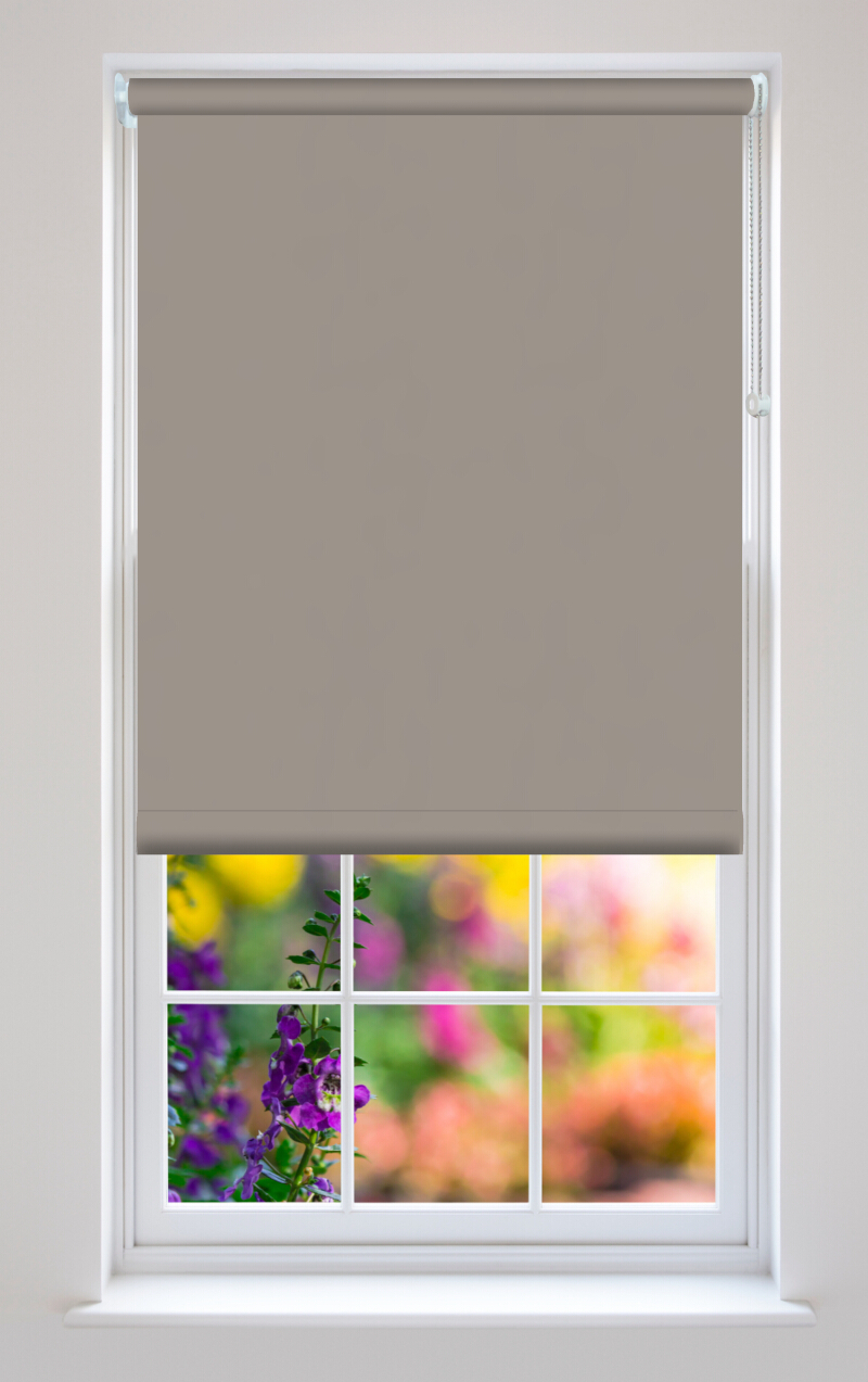 Bella Taupe Roller Blinds Available Online In Uk And Ireland