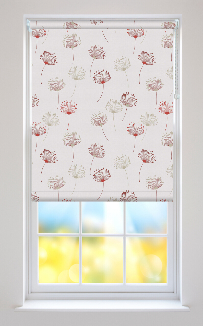 Calista Lust Floral Roller Blinds Available Online In The