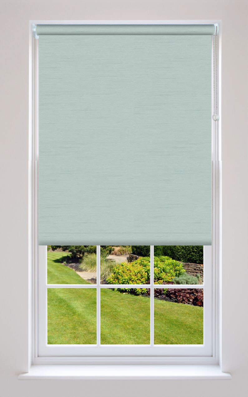 Estella Duck Egg Blackout Roller Blinds Available Online