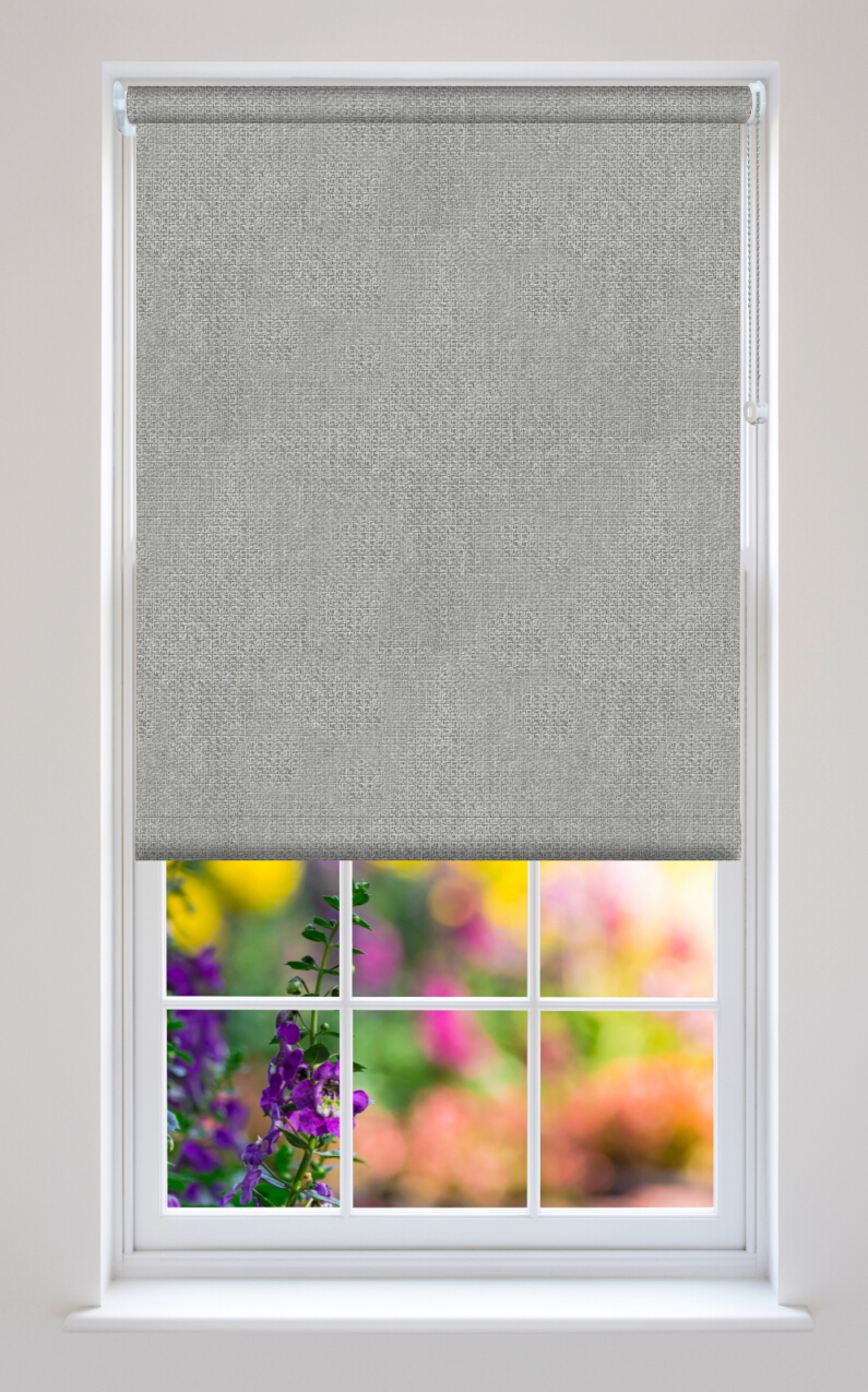 Henlow Graphite Roller Blinds Available Online In The Uk