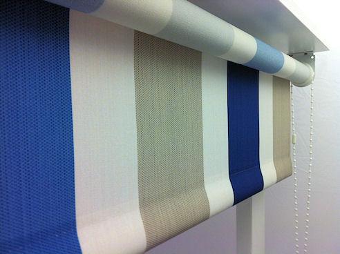 kensington persian stripe roller blinds