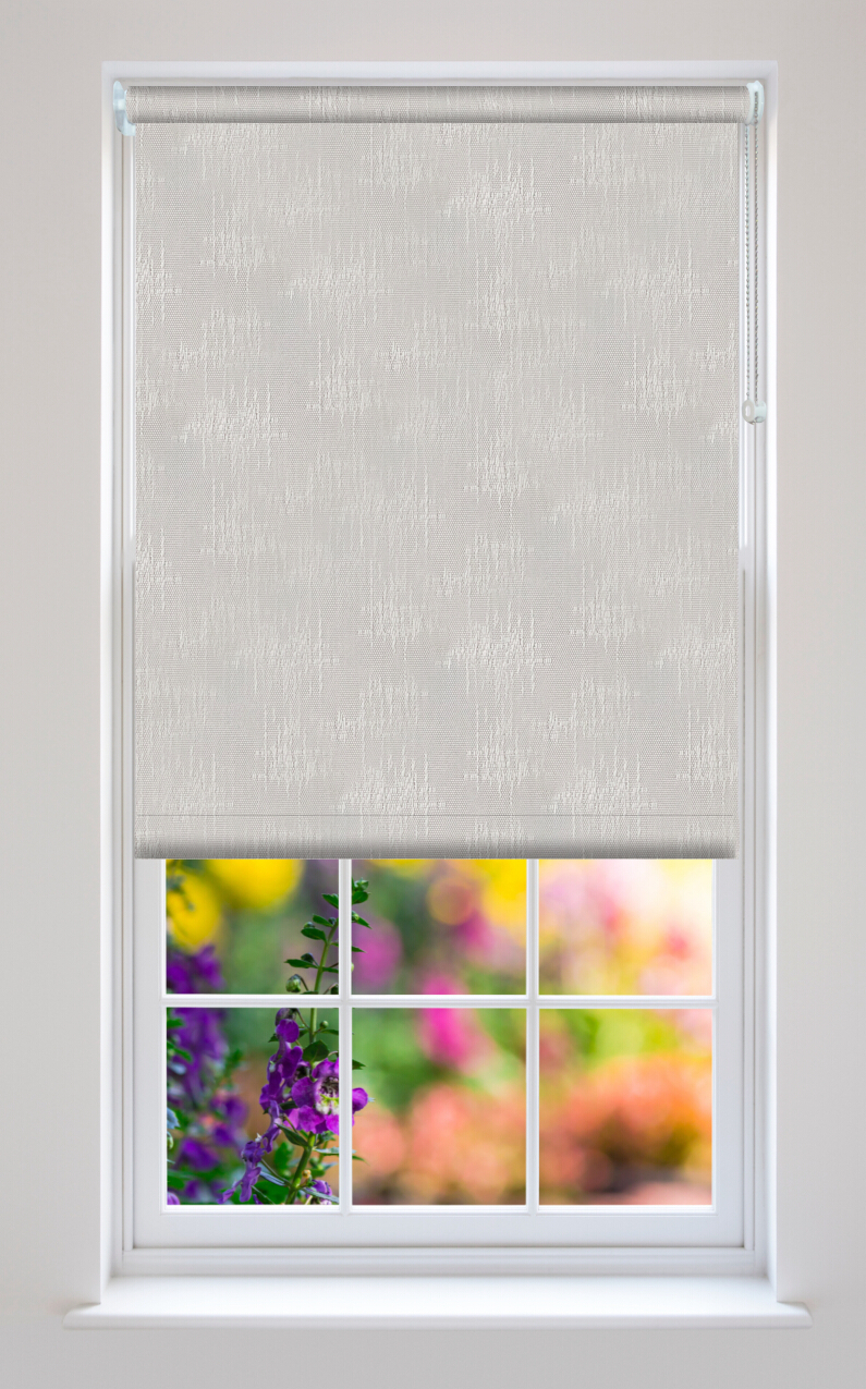 Kira White Roller Blinds Available Online In The Uk And