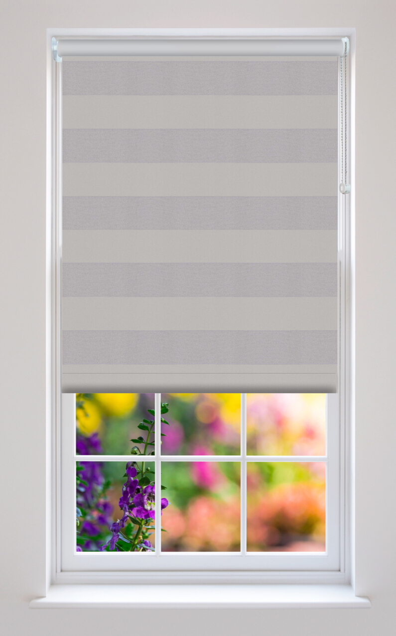 Midas Shadow Striped Blackout Roller Blind Quality Roller