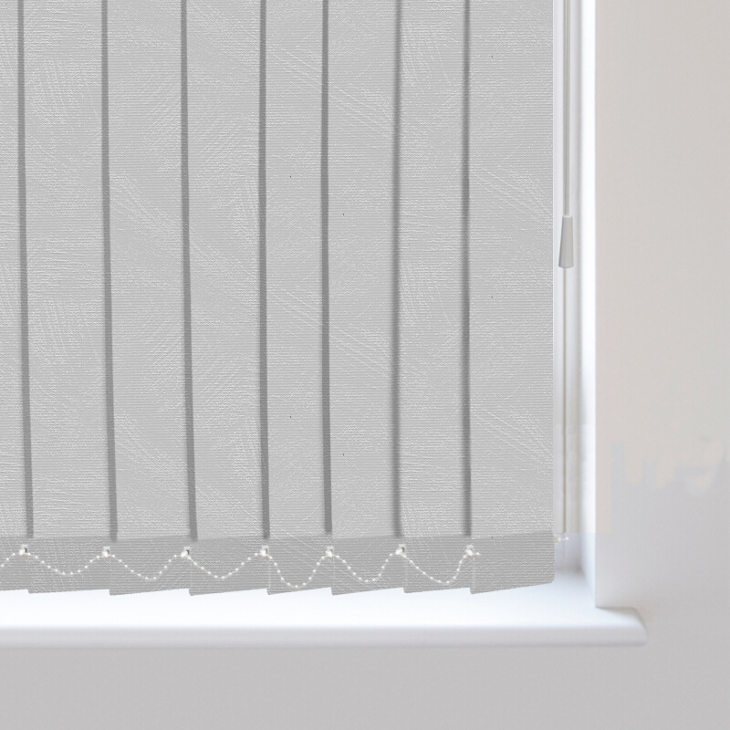 Romany Light Grey Replacement Vertical Blind Slats