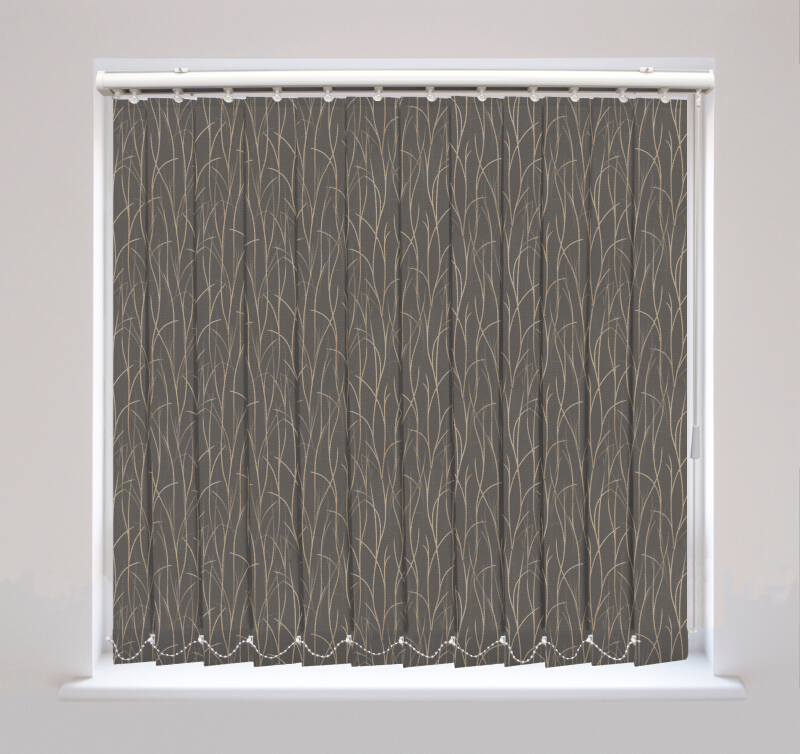 Sio Charcoal Vertical Blinds Available Online In The Uk
