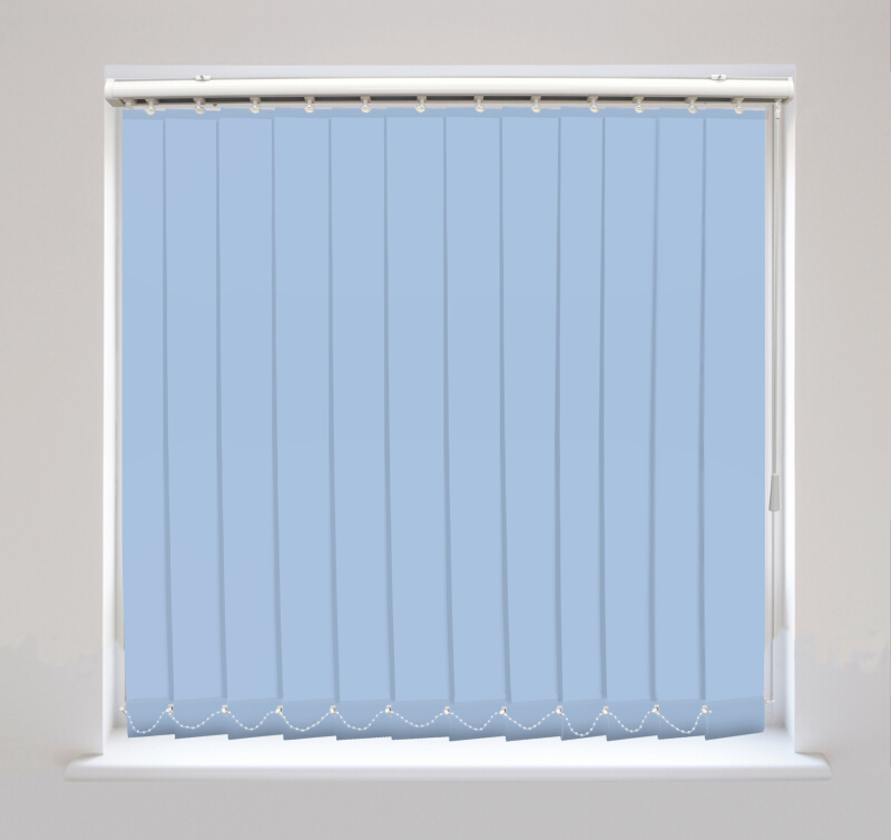 Splash Azure Vertical Blinds Available Online In The Uk