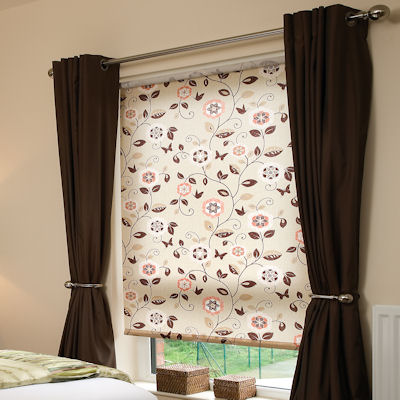 Digital Print Rollers Buy Beatrice Beige Roller Blinds