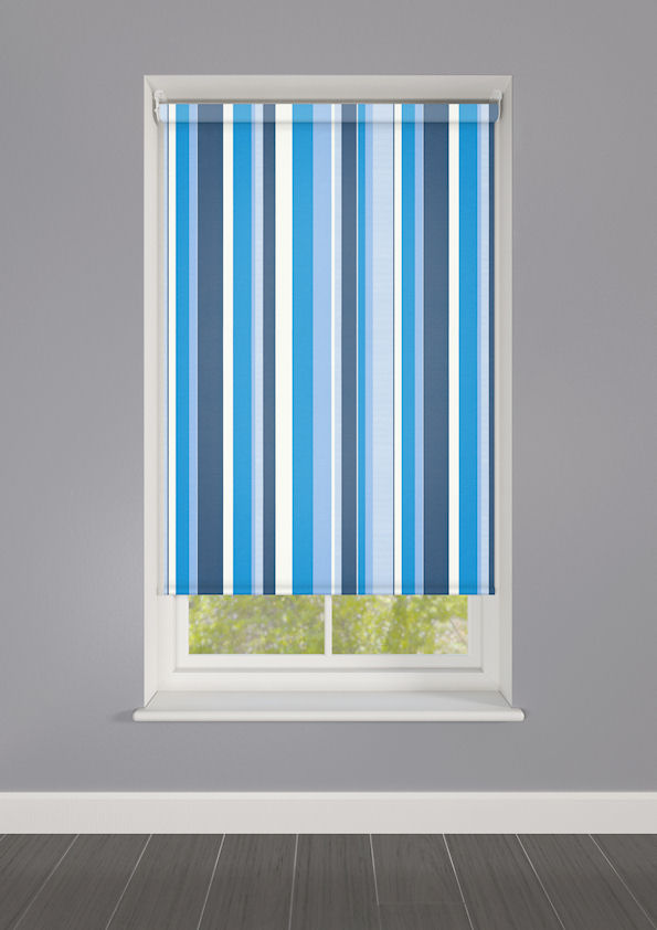 Lola Boston Striped Roller Blinds Available Online In The