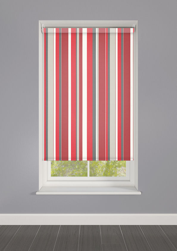 Lola Flamenco Striped Roller Blinds Available Online In