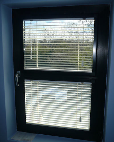 Ivory Perfect Fit Wooden Venetian Blinds Quality Made To