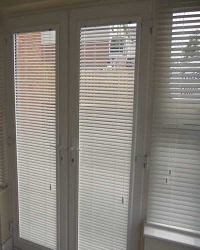 Polar White Perfect Fit Wooden Blinds Available Online In