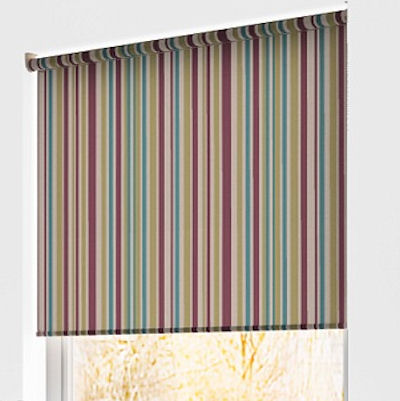Spectrum Stripe Roller Blinds Buy Spectrum Mulberry