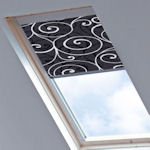 Colt Roto Blinds Scroll Black(dimout)