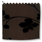 Roller Blinds Taffeta Chocolate