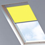 Tudor for Velux Windows Canary Yellow
