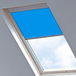 Tudor for Velux Windows Electric Blue(dimout)