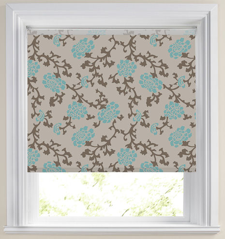 Roller Blinds Elise Teal