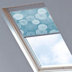 Tudor for Velux Windows Gardenia Blue