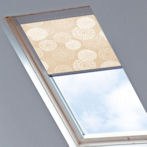 Tudor for Velux Windows Gardenia Ecru