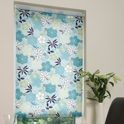 Grenada Teal Roller Blinds Available Online In Uk And Ireland