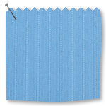 Replacement Vertical Blind Slats Lines Dark Blue
