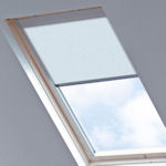 Tudor for Velux Windows Light Blue