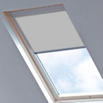 Tudor for Velux Windows Light Grey