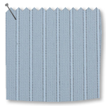 Replacement Vertical Blind Slats Lines Light Blue