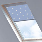 Tudor for Velux Windows Polka Dot Blue